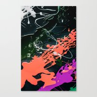 Canvas Print featuring KOLORS 3 by Ylenia Pizzetti