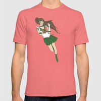 Sailor Jupiter Mens Fitted Tee Pomegranate SMALL