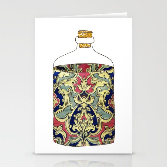 bottled happiness Stationery Card