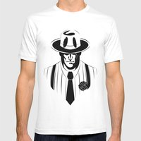 The Gangster Way Mens Fitted Tee White SMALL