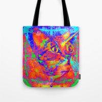 Caticorn-Lady Jasmine Tote Bag