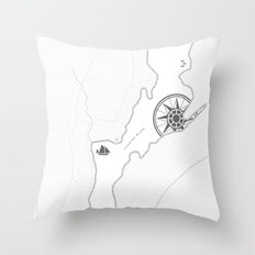 Taunton River Throw Pillow