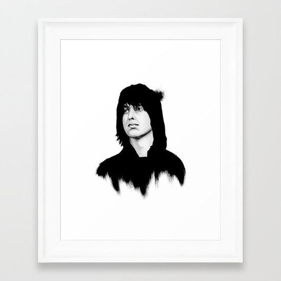 JULIAN Framed Art Print