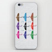 umbrella iPhone & iPod Skin