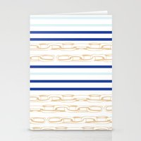 Chain up  Stationery Cards