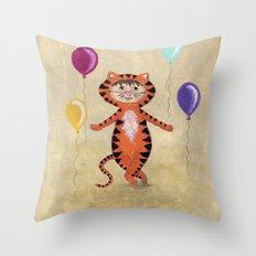 I'm A Tiger - Rooooaaarrrr Throw Pillow
