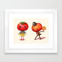 Tomato Tomato Framed Art Print