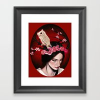 Rush Of Blood To The Hea… Framed Art Print