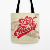 Lost Paradise Tote Bag