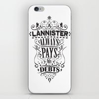 Lannister iPhone & iPod Skin