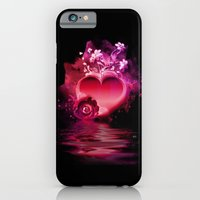 iPhone & iPod Case featuring Flooding Heart by Mr D's Abstract Adventures