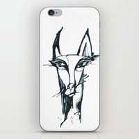 face of the animals iPhone & iPod Skin