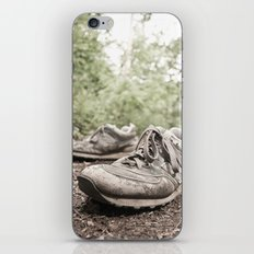 shoes for a decade, not for a year iPhone & iPod Skin