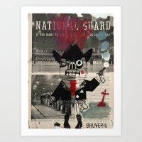 national guard Art Print