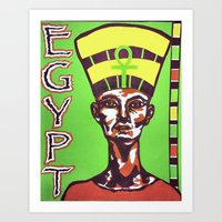 Egyptian Queen Art Print