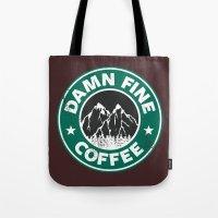 Damn Fine Coffee Tote Bag
