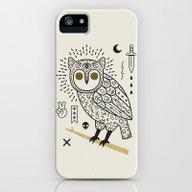 Hypno Owl iPhone (5, 5s) Slim Case