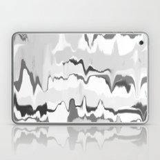Marbled in onyx Laptop & iPad Skin