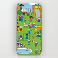 Playground  XL iPhone & iPod Skin