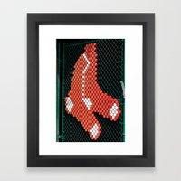 Red Sox Framed Art Print