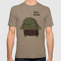 UGAH UGAH Mens Fitted Tee Tri-Coffee SMALL