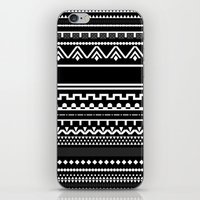 Graphic_Black&White #6 iPhone & iPod Skin