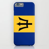 iPhone & iPod Case featuring Flag Of Barbados by Neville Hawkins