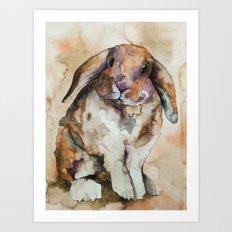 BUNNY #1 Art Print