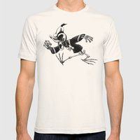 Donald Duck Mens Fitted Tee Natural SMALL
