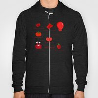Colors: Red (los Colores… Hoody