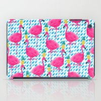 Party Flamingos iPad Case
