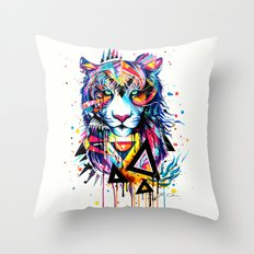 -Tiger - Throw Pillow