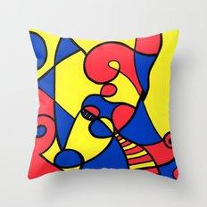 Print #12 Throw Pillow