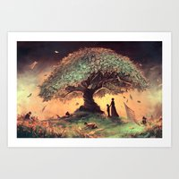 Follow our rules Art Print