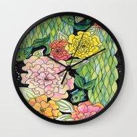 Fish Tropic Wall Clock