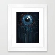 eye of all Framed Art Print