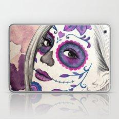 Sugar Skull Girl Laptop & iPad Skin