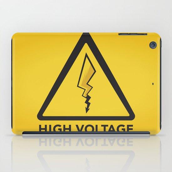High Voltage iPad Case
