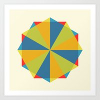 Shapes Art Print