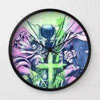 Al Simons Wall Clock