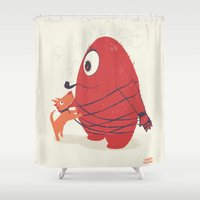 Cyclopes Monster Blob & … Shower Curtain