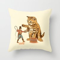 Training Day Throw Pillow