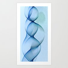 string no.43 Art Print