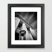 Temple of the Gods Framed Art Print