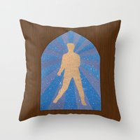 St Elvis Throw Pillow