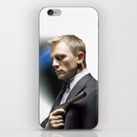 Daniel Craig As James Bo… iPhone & iPod Skin