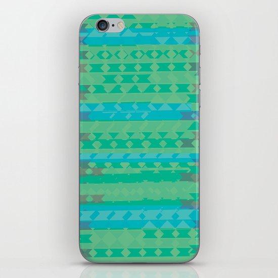 Summertime Green iPhone & iPod Skin