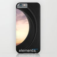 iPhone & iPod Case featuring elements | clouds by Little cloud