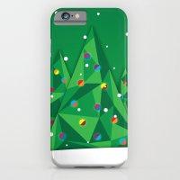 Vector Christmas Tree iPhone 6 Slim Case