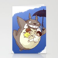 Totoro  Stationery Cards